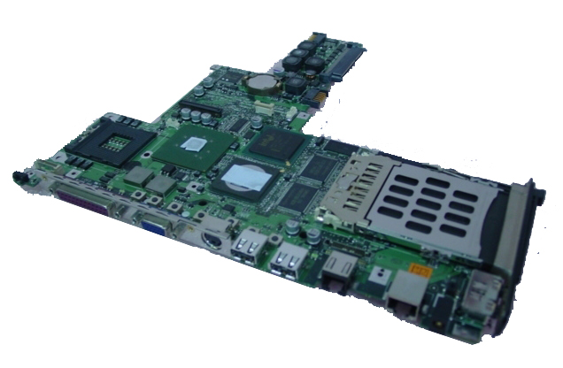 MB73 NEW 322498-001 Compaq Evo N800w Motherboard - Click Image to Close