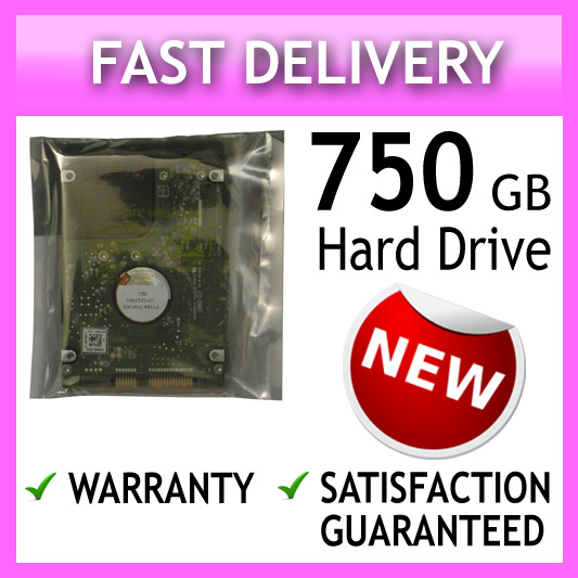 750GB Acer Aspire 3410 4552 4743G 5570Z 5570 5910 5820TZG 5580 Laptop Hard Drive