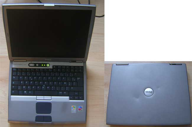 LP_Dell0003_AC DELL LATITUDE D600 LAPTOP 1.6GHz NO RAM, NO HARD DRIVE SPARES