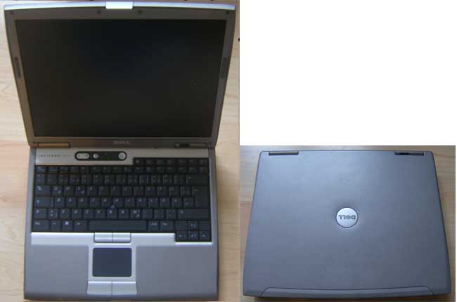LP_Dell0004_AC DELL LATITUDE D610 LAPTOP 1.86GHz NO RAM, NO HARD DRIVE SPARES