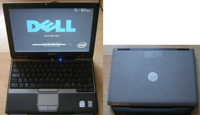 LP_Dell0005_AC DELL LATITUDE D420 LAPTOP Core DUO 1.2GHz NO HARD DRIVE SPARES