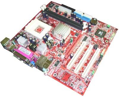 MB64 NEW MSI Motherboard MS-6734 100923 KM4M-L