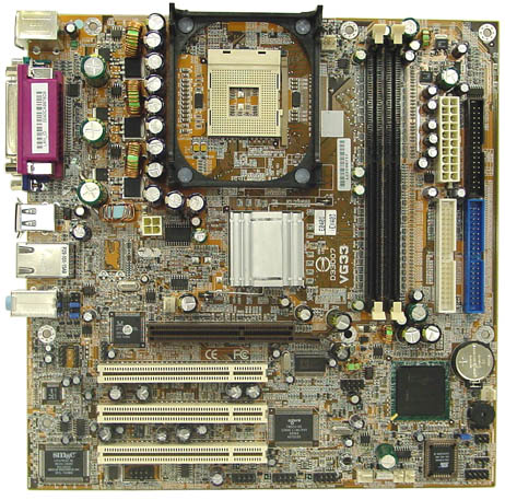 MB65 NEW EMACHINES VG33 MOTHERBOARD 101012