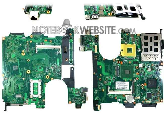 MB48 NEW 441095-001 MOTHERBOARD HP NX7300