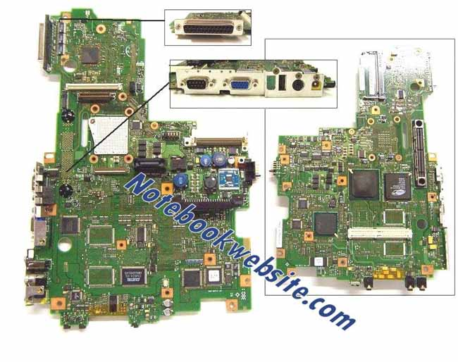 MB56 IBM ThinkPad A22M Intel Motherboard 12P3979