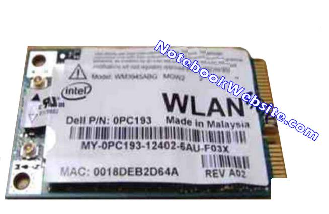 W5 DELL INSPIRON 6400 Internal WiFi Card WM3945ABG