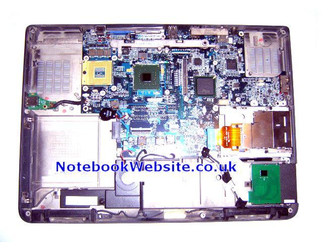 MB42 Dell XPS M1710 Motherboard, Mobo, Case, Speakers