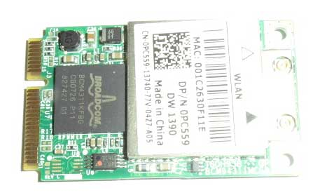 W23 BROADCOM BCM4311KFBG Internal WiFi WIRELESS Card