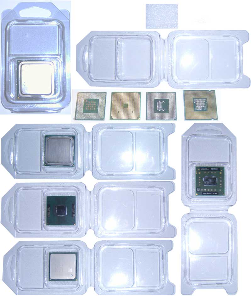 CPU Processor BOX Shipping Postage Storage Anti Static