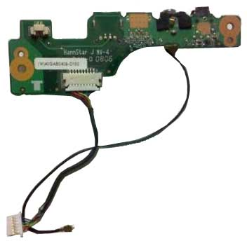 R37 Alienware m9750 m9700 Modem S-Video USB Audio Board