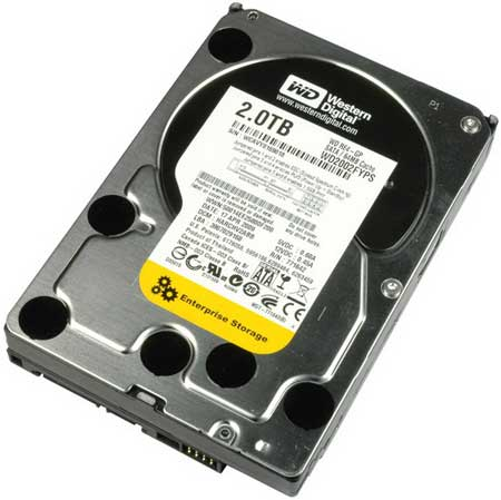 "Western Digital RE4-GP WD2002FYPS 2TB 64MB Cache SATA 3.0Gb/s 3.5"" Hard Drive -B"